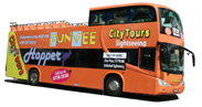 FunVee Double Decker Open Top Bus