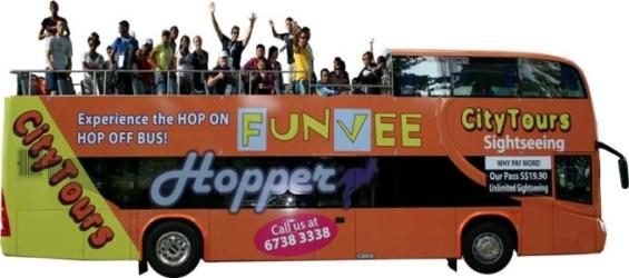 FunVee Hop On Hop Off Bus